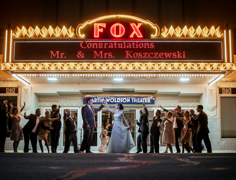 Weddings at the Fox