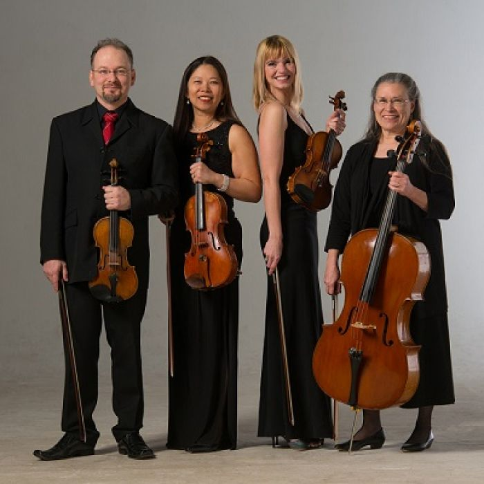 Spokane String Quartet: Haydn, Shaw and Dvorak